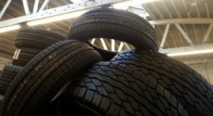 Tire Pile - Used Tires