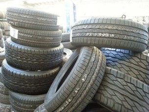 Group of Tires - Used Tires